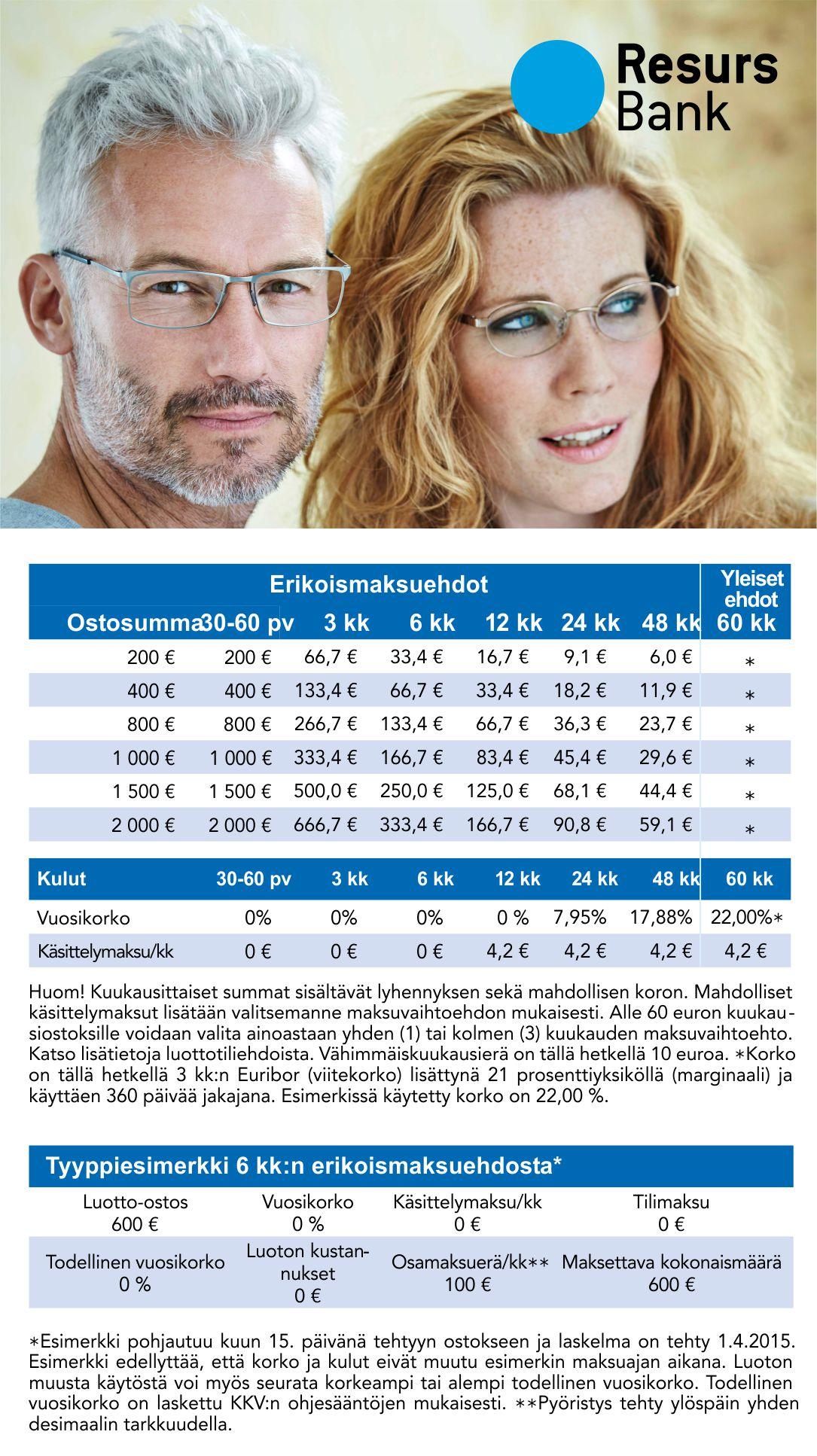 Maksuaikaa ostoksillesi – Optikko Ukkonen 755d796667